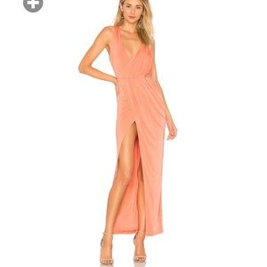 Revolve NBD Sangria gown